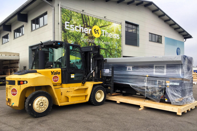 Durst-Druckmaschine Rho512-R7C Anlieferung